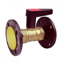 Балансировочный клапан ф/ф Ду 65 Ру 16 Kvs=46.25, Broen Ballorex® Venturi DRV 3916100-606005 (2части)