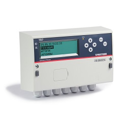 Тепловычислитель ТВ7-04.1М с сетевым источником питания+батарея АА